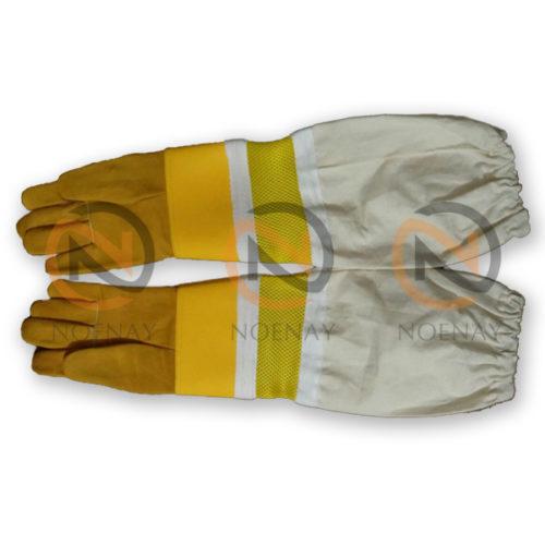 ventilated beekeeping gloves